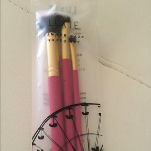 Luxie Summer Daze 3 Piece Brush Set
